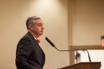 Dr. Timothy C. Caboni was introduced as WKU's 10th president on Jan. 27.