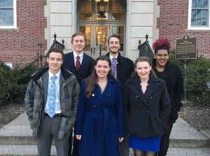Six members of the WKU Forensics Team competed Feb. 6-7 at Urbana-Champaign, Illinois.