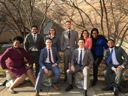 Members of the WKU Forensics Team won tournament championships Feb. 11-12 at Bowling Green State University.