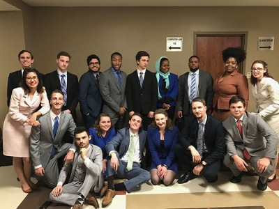 The WKU Forensics Team won team sweepstakes at two tournaments in Tuscaloosa, Alabama.