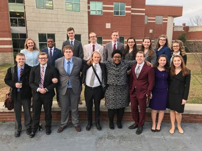 The WKU Forensics Team won the state championship Feb. 18 in Owensboro.