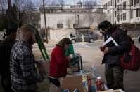 WKU's Habitat for Humanity Campus Chapter conducted a fund-raising event on Feb. 13.