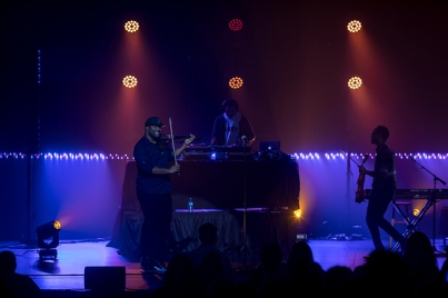 Black Violin performed on Feb. 21 as part of the Cultural Enhancement Series.