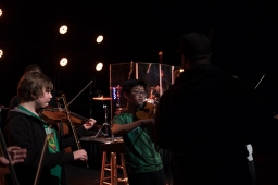 Black Violin conducted a masterclass on Feb. 21.