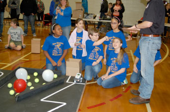 The 17th annual Kentucky Bluegrass LEGO Robotics Competition will be held Feb. 25 at Henry Moss Middle School.