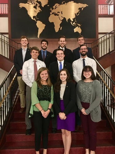 The WKU Circle of Omicron Delta Kappa National Leadership Honor Society inducted new members on Feb. 9.