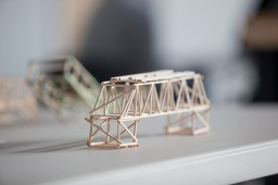 The regional bridge building competition was held March 4.