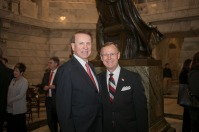 Rep. Jody Richards and WKU President Gary A. Ransdell