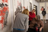 """The Confucius Institute at WKU hosted the grand opening of """"Exposing Chinese Culture to the World through Art"""" on March 22. The exhibit is on display through May 31."""