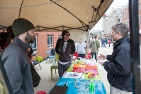 The inaugural Night Market was held March 31 at Stadium Park Plaza.