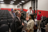 Vic Richey presented the Hays Watkins Lecture on March 31.