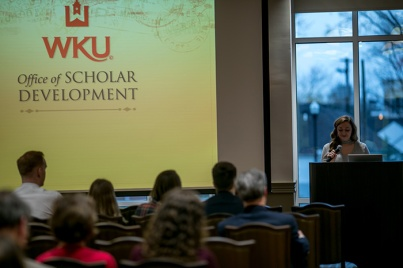 The Office of Scholar Development hosted an awards ceremony on March 31.