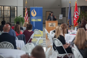 The Lieutenant Governor's Entrepreneurship Challenge Zone 2 Regional Competition was held April 11 at WKU's Center for Research and Development.
