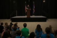 """Goosebumps"" author R.L. Stine was featured during Children's Day at the Southern Kentucky Book Fest on April 21."
