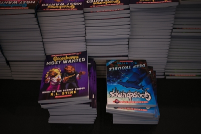 """""""Goosebumps"""" author R.L. Stine was featured during Children's Day at the Southern Kentucky Book Fest on April 21."""