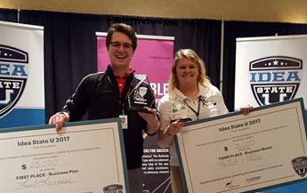 WKU student entrepreneurs honored at Ide...