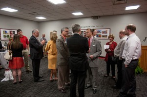 WKU Glasgow hosted a reception honoring President Gary A. Ransdell on April 25.