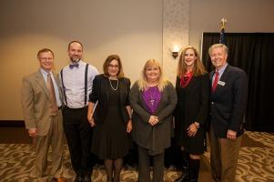 Faculty awards reception was held April 27.
