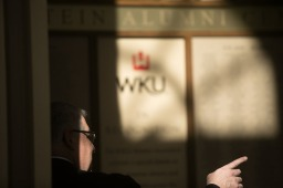 iamWKU and the WKU Alumni Association hosted a reception April 27 to thank faculty and staff donors.