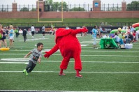 Family Fun Day, presented by the Suzanne Vitale Clinical Education Complex, was held April 28.