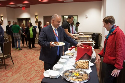 WKU hosted a dinner April 28 for a group of international high school counselors touring the United States.