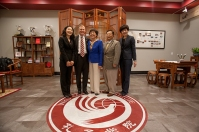 Confucius Institute meeting was held May 4.