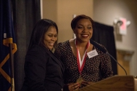 The Graduate School hosted an honors dinner on May 11.