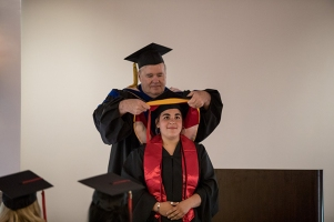 The Public Health program conducted a graduation event on May 12.
