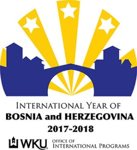 The logo designed by WKU senior Nikki Gross will serve as the visual emblem for the International Year of Bosnia and Herzegovina.