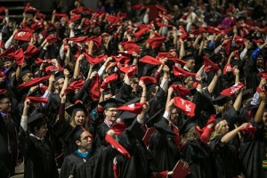 WKU's 181st Commencement will be held May 12-13 at Diddle Arena. For more details about Commencement activities, visit http://bit.ly/2qvIV2y