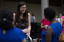 Potter College of Arts & Letters welcome back event on Aug. 16.