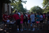MASTER Plan activities included Big Red's Blitz on Aug. 17.