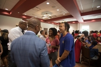Students of Color social was held Aug. 18.