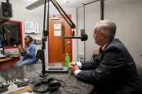 WKU President Timothy C. Caboni talked with Ambriehl Crutchfield on Aug. 25 for the Unity Podcast.