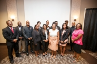 The Distinguished Minority Fellows pinning ceremony was held Aug. 25.