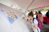 The Bosnian Cafe on Aug. 28 was part of the International Year of Bosnia and Herzegovina.