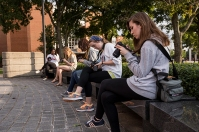 Fall semester scenes on the WKU campus