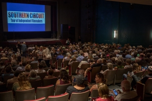 "A screening of ""Look and See: A Portrait of Wendell Berry"" was held Aug. 29."