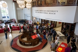 The Chinese Flagship Program orientation was held Sept. 9.