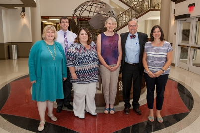 A delegation from the University of Lincoln visited WKU on Sept. 18.