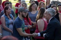 The SKyTeach program hosted a picnic on Sept. 21.
