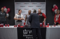 WKU Elizabethtown-Fort Knox hosted an ice cream social with President Timothy C. Caboni on Sept. 26.