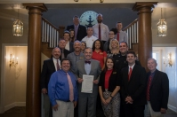 A proclamation signing declaring Oct. 4 Safe Communities Day was held on Sept. 28.