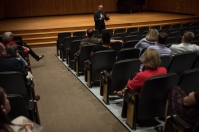 The Department of Communication hosted a Meet the President presentation on Oct. 3.