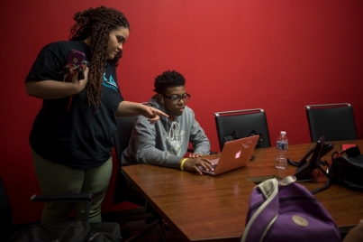 Intercultural Student Engagement Center study group met on Oct. 3.