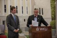 WKU kicked off Domestic Violence Awareness Month with a proclamation signing on Oct. 9.