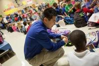 Shane Baker is a student teacher at Cumberland Trace Elementary School.
