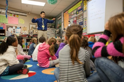 Shane Baker is a student teacher at Cumberland Trace Elementary School.