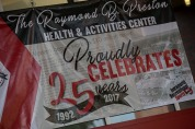The Preston Health and Activities Center celebrated its 25th anniversary on Oct. 14.