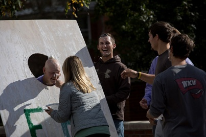 WKU FarmHouse Fraternity held a philanthrophy event on Oct. 25.